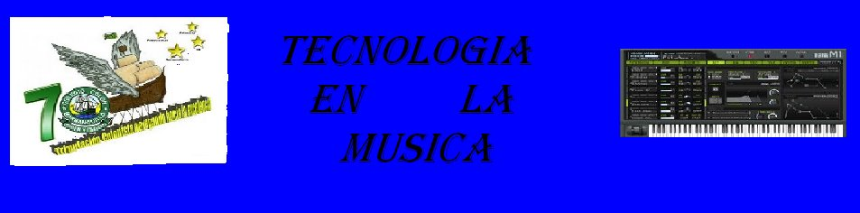 TECNOLOGIA EN LA MUSICA