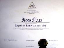 Penghargaan dari BASF