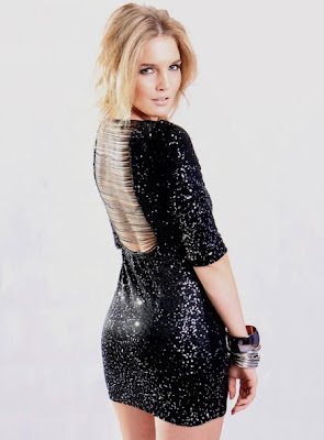 NEW Hollywood Celeb Style KATE HUDSON BodyCon Backless Long