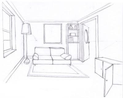 Ilustraciones y c mics 5 perspectiva for Plano habitacion online