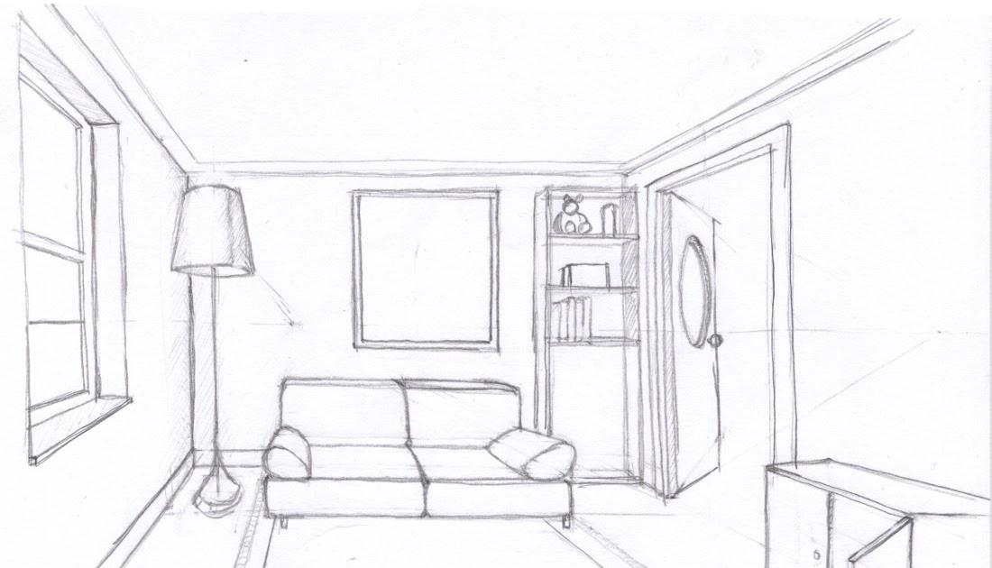 Ilustraciones y c mics 5 perspectiva for Exterior un punto de fuga