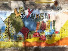Murales en LA YUNGAY