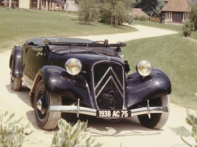 Citroen-Citroen Traction Avant 11B Cabrio (1938)
