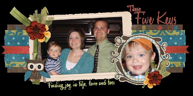 The Five Keys Blog Design