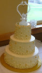 Lisa and Tim's Wedding Cake