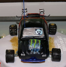 RC Car with Snowboard