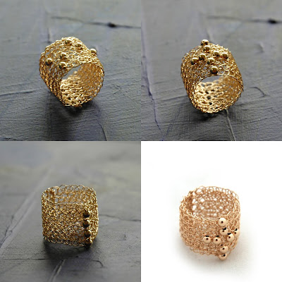 crochet metal wires with round beads
