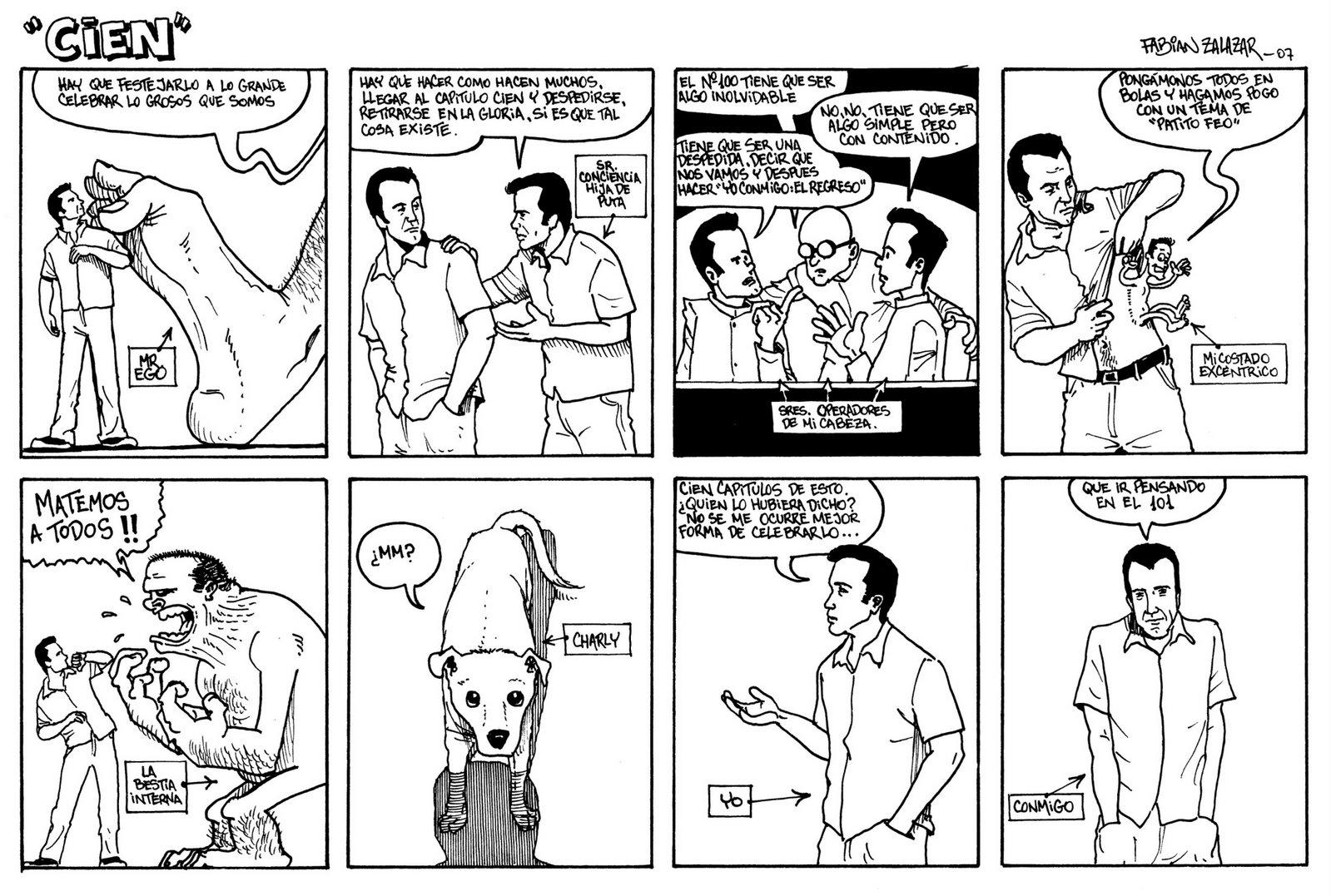 fabian zalazar--dibujante de historietas reales