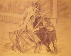 Boceto para un cuadro taurino