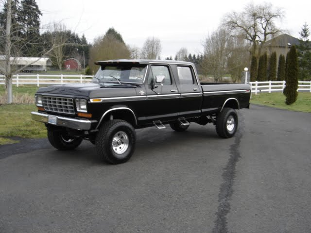 1979 Ford Crew Cab 4x4 for Sale