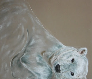 Arctic Frolic - Polar Bear By Cori Solomon