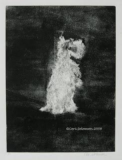 Scottish Terrier - Midnight Sonata By Cori Solomon