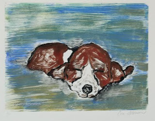 Basset Hound, Sweet Dreams By Cori Solomon