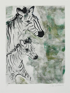 Zebras - Striped Duet By Cori Solomon