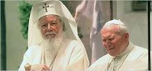 Prea Fericitul Teoctist si Papa Ioan Paul al II-lea