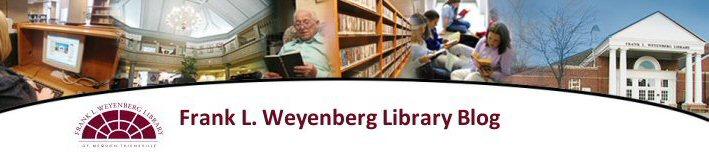 Frank L. Weyenberg Library Blog