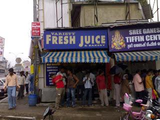 Variety Fresh Juice shop in Trivandrum