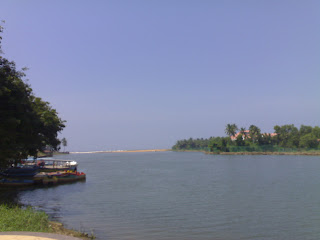 Veli Tourist Village lake flows into the sea