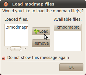 Enable Modmap load at book dialog