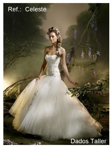 vestidos de novia sencillos. Cualquier vestido suyo de