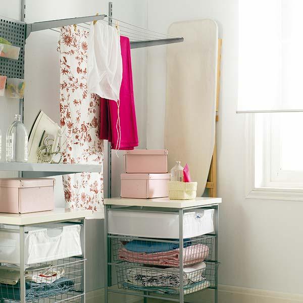 Ideas para organizar un cuarto de lavado plancha amor - Cuartos de colada y plancha ...