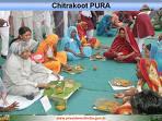 चित्रकूट में राष्ट्रपति कलाम पंगत मे भोजन कर्ते