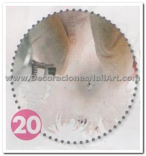 Diseño Práctico y fácil de hacer en uñas acrílicas (AEROGRAFíA) Diseño Práctico y fácil de hacer en uñas acrílicas (AEROGRAFíA) Dise 25C3 25B1os de U 25C3 25B1as 36