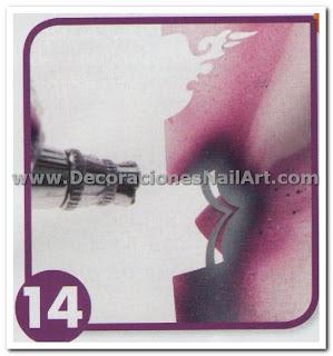 Como hacer Uñas Acrilicas con diseño aerógrafo (colorido y mágico) Como hacer Uñas Acrilicas con diseño aerógrafo (colorido y mágico) Dise 25C3 25B1os de U 25C3 25B1as 61