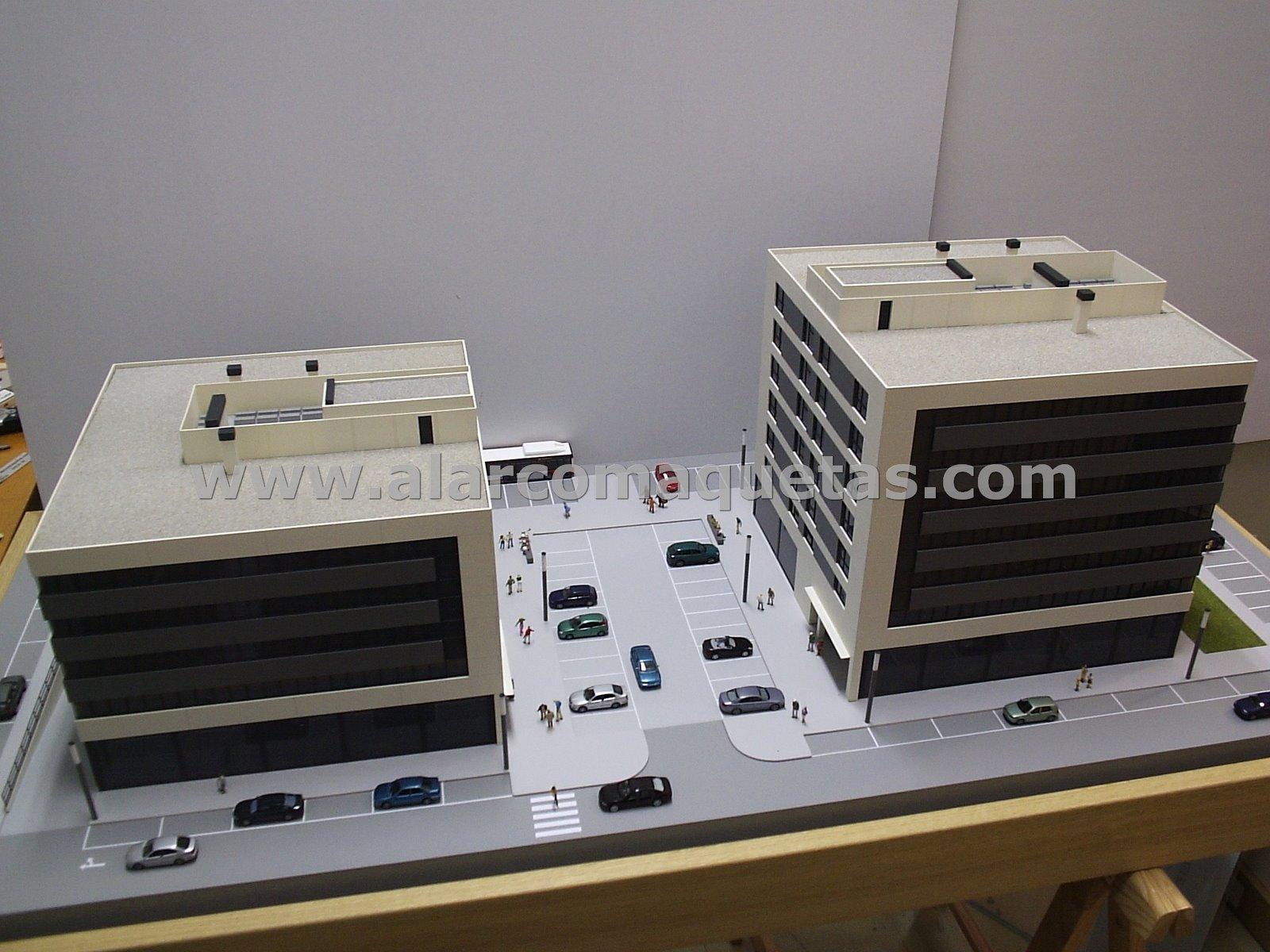 Maquetas de Edificios (Espectacular)