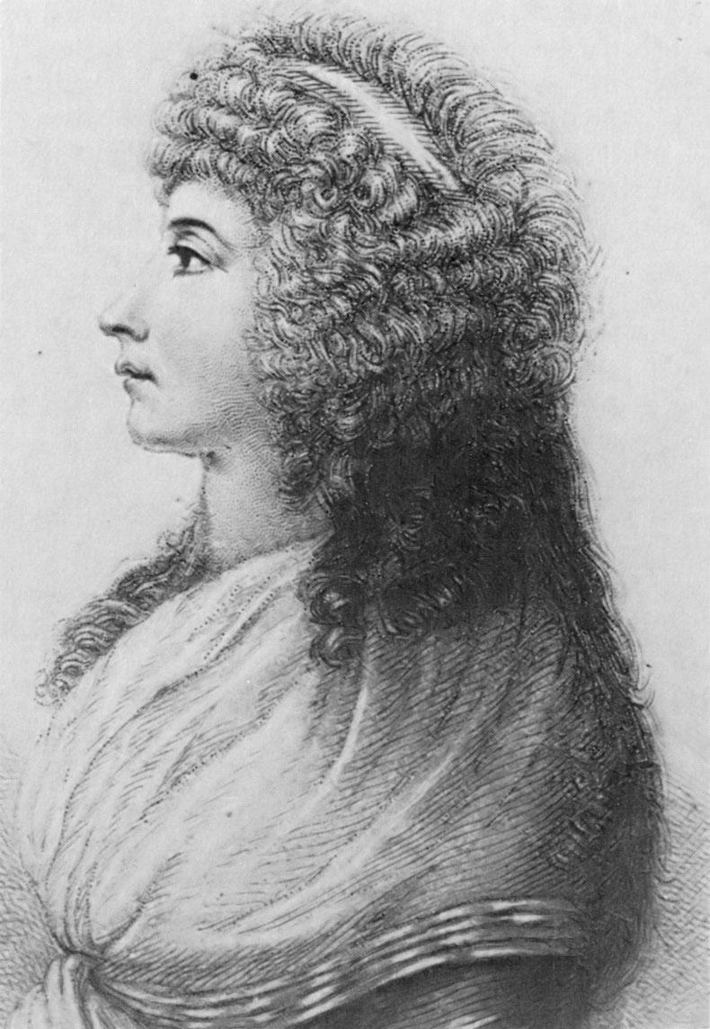 Goethe : Gedicht an Frau Charlotte von.