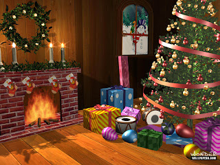 Window XP 3d christmas wallpapers