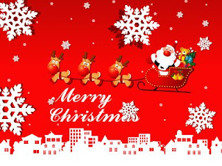 Childern Christmas Wallpaper