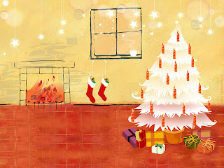 Window XP Christmas Wallpapers