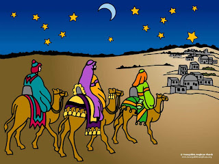 christmas wise men wallpaper