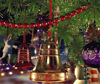 Hanging Jingle Bells Wallpaper