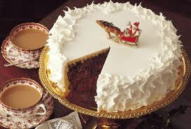 Christmas Cake Wallpapers