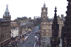 Edinburgh and Princes Street