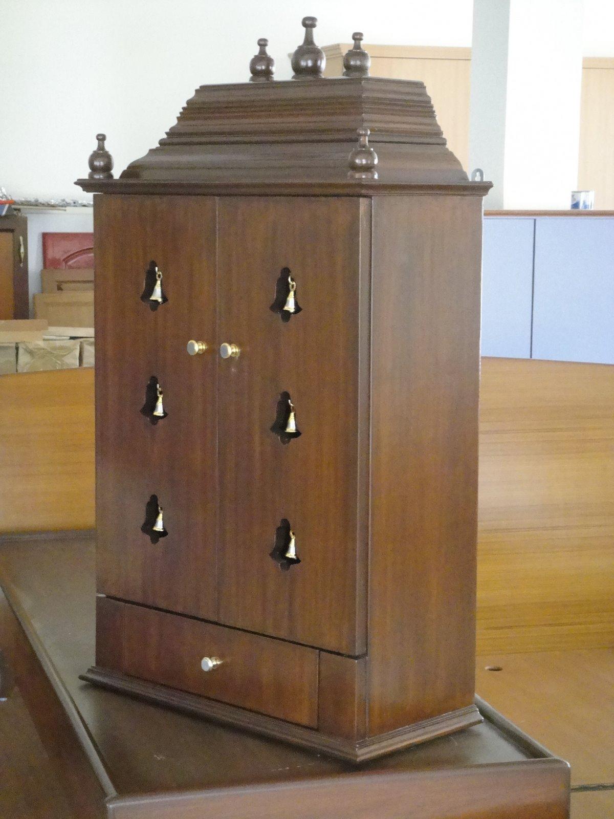Pooja Cabinet.