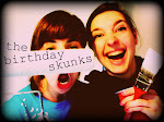 the birthday skunks!