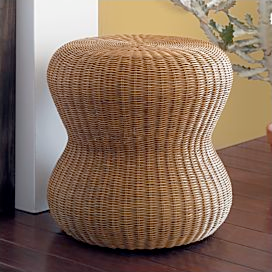 High Quality Wicker Natural Ottoman · Abaca Ottoman · Palmetto Wicker Accent Tables