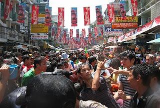 Songkran Festival (Thai New year) in Bangkok 2007