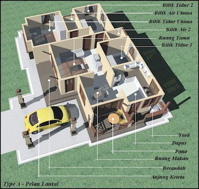 ... impian anda ~~: Rumah Banglo 1 Tingkat di Kg. Banggol Lepah, Ketereh