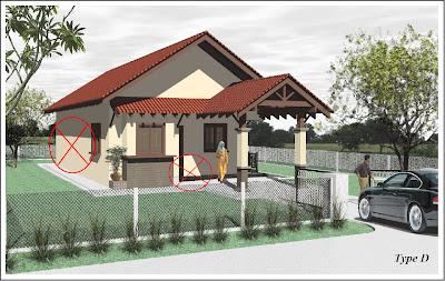 rumah kediaman tanpa system open plan contoh contoh perumahan nsc