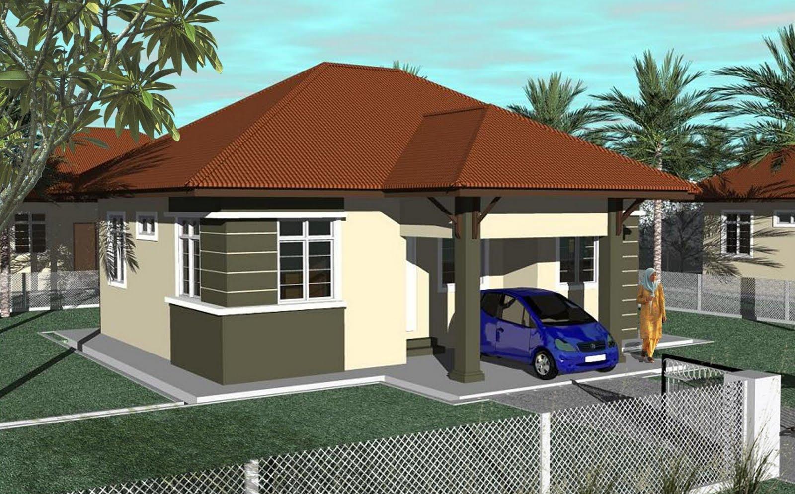 Bentuk Rumah Satu Tingkat  newhairstylesformen2014.com