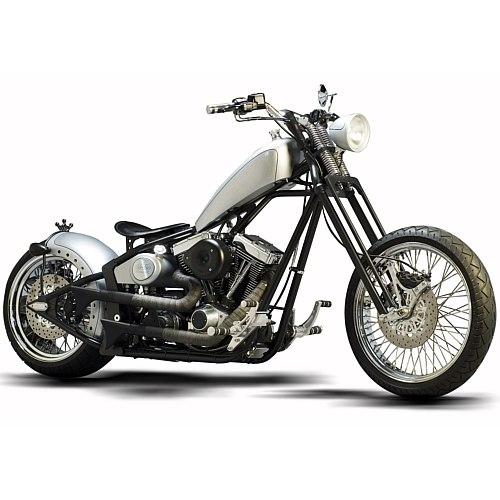 biker excalibur II: Saxon Motorcycle The CROWN