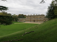 DYRHAM OARK HOUSE FROM THE FRONT