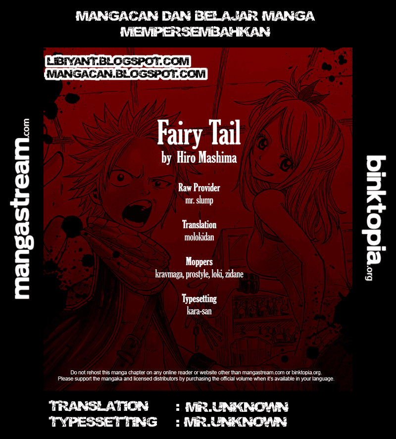 credits Fairy Tail 221