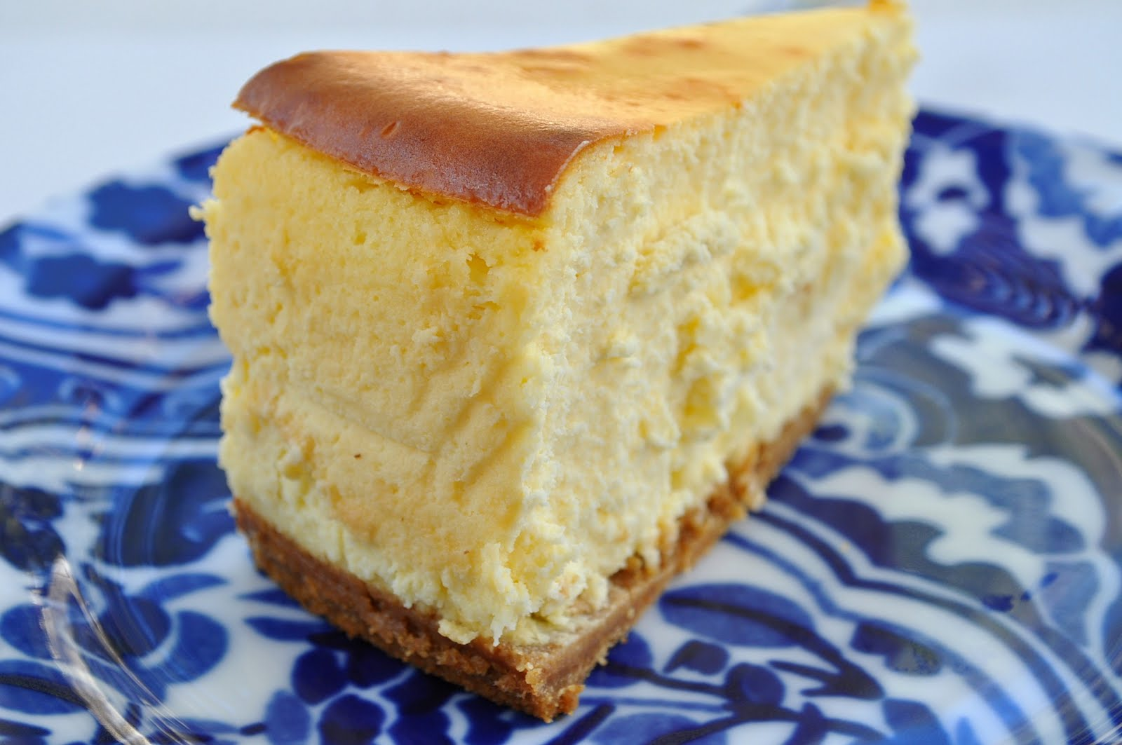 New York cheesecake is sweet,