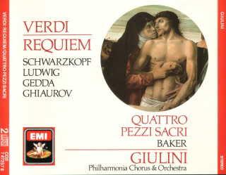 ¿Réquiem de Verdi? Requiem