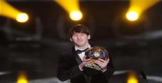 Messi Wins Ballon d'Or 2010